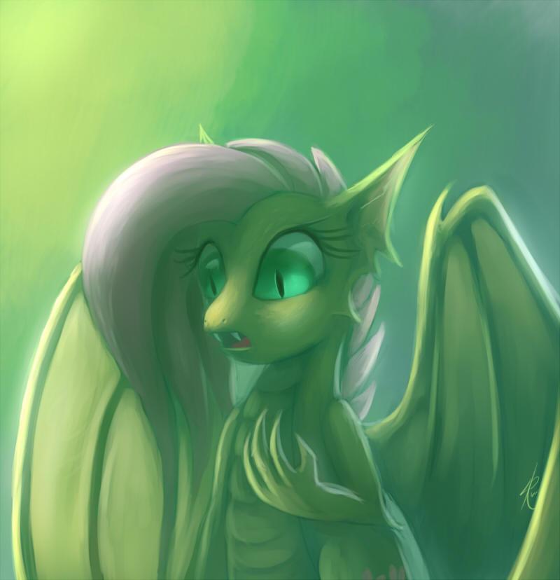 Dragonshy by Raikoh-illust