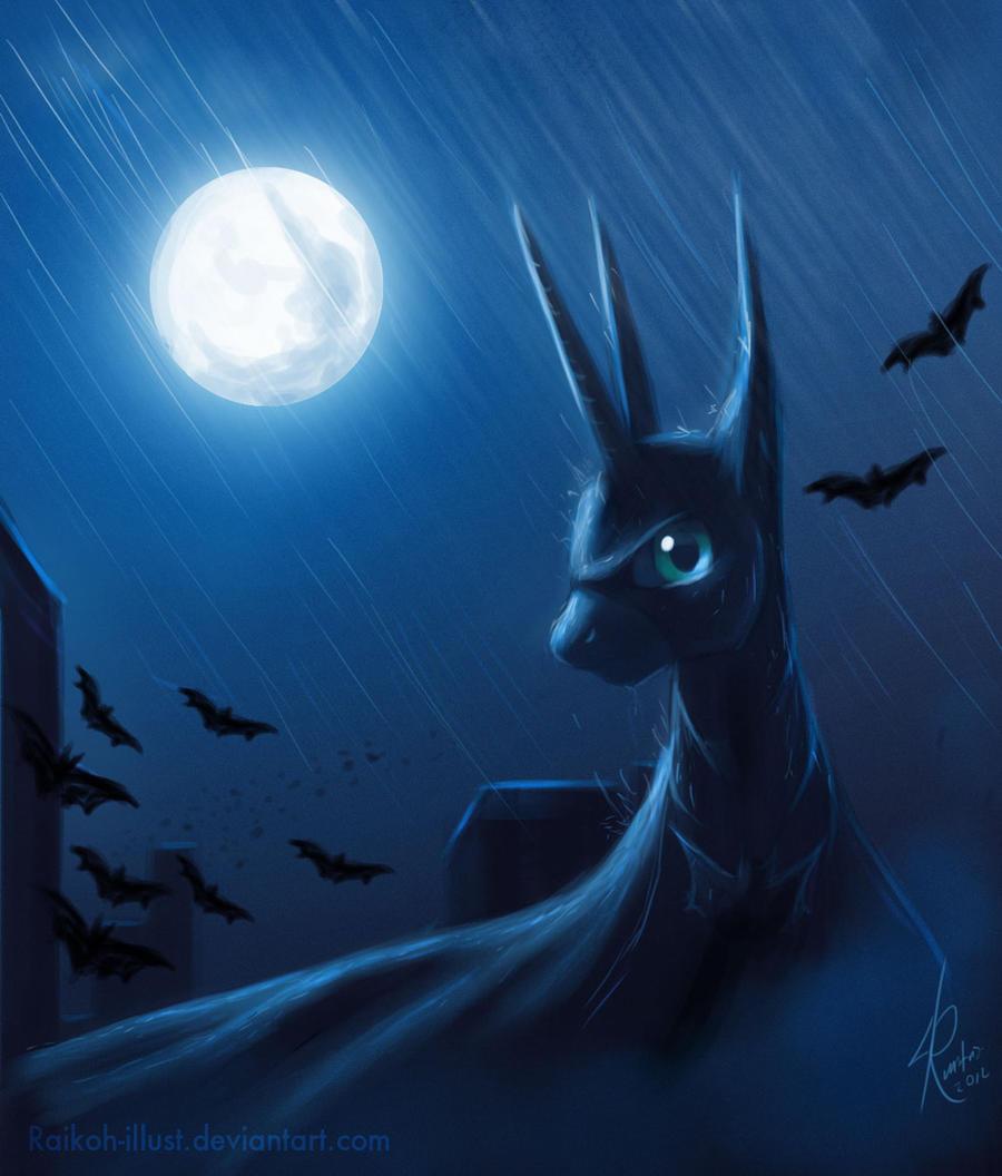 The Dark Mare Rises. by Raikoh-illust