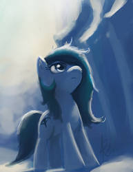 Looking up by RaikohIllust