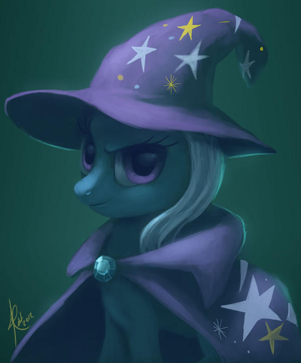 The Great and Powerful Trixie by Raikoh-illust