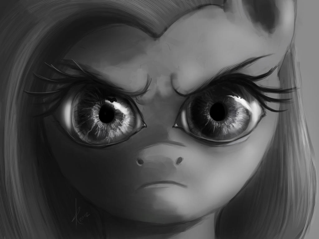 The Stare by Raikoh-illust