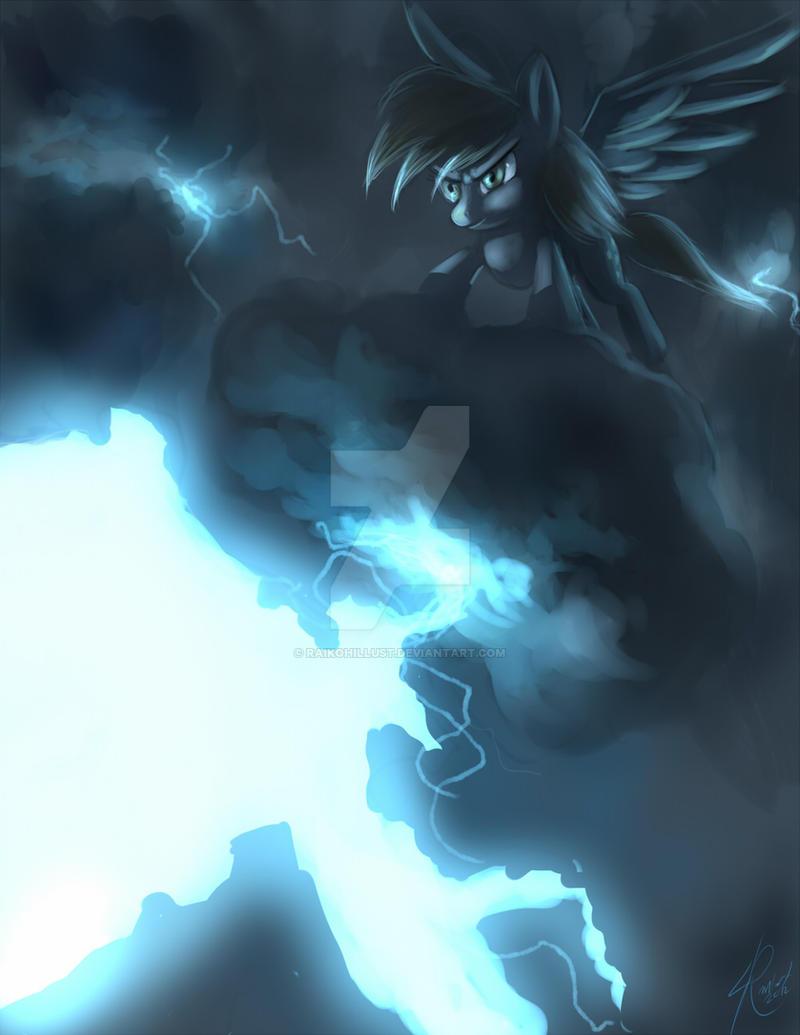 Thunder Derpy by Raikoh-illust