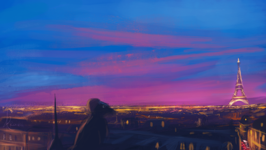 Remy on Paris by Raikoh-illust