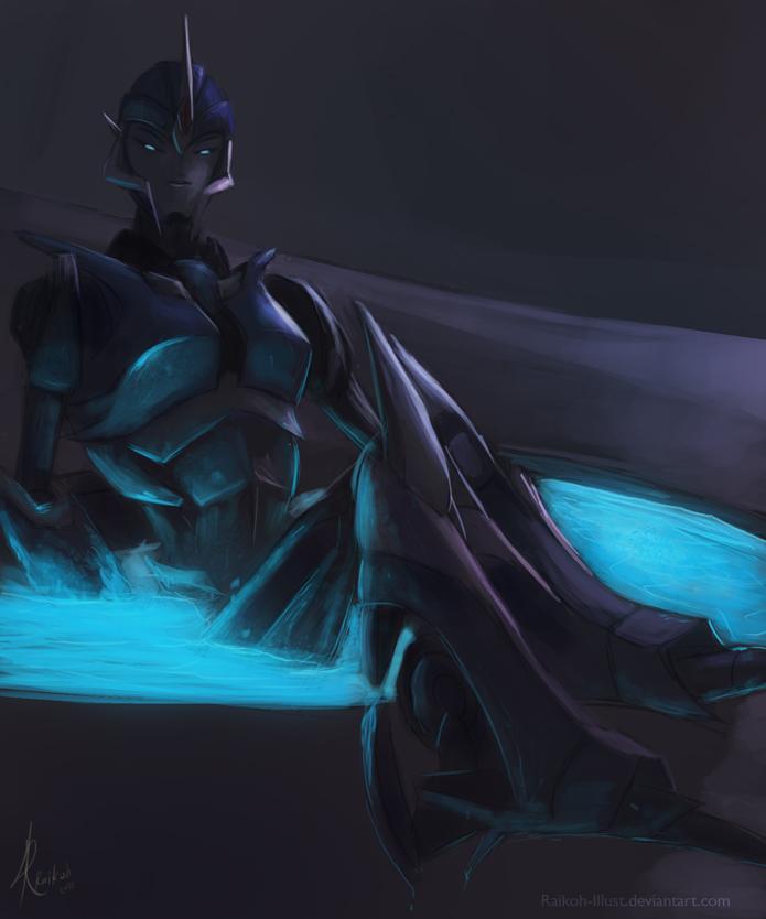 Transformers Prime Arcee Sexy Arcee bath by raikoh-illust