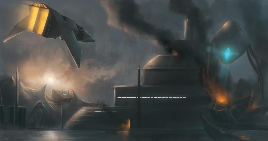Invasion by Raikoh-illust