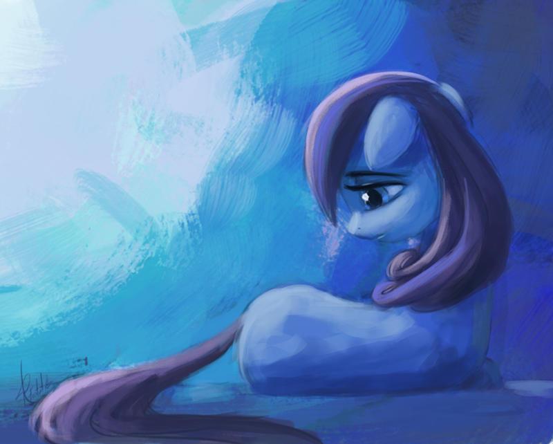 Crystal Pony by Raikoh-illust