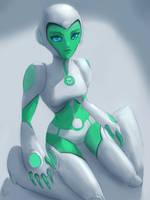 Aya - Green Lantern TAS by RaikohIllust