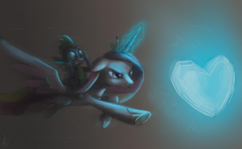 Get Crystal Heart by Raikoh-illust