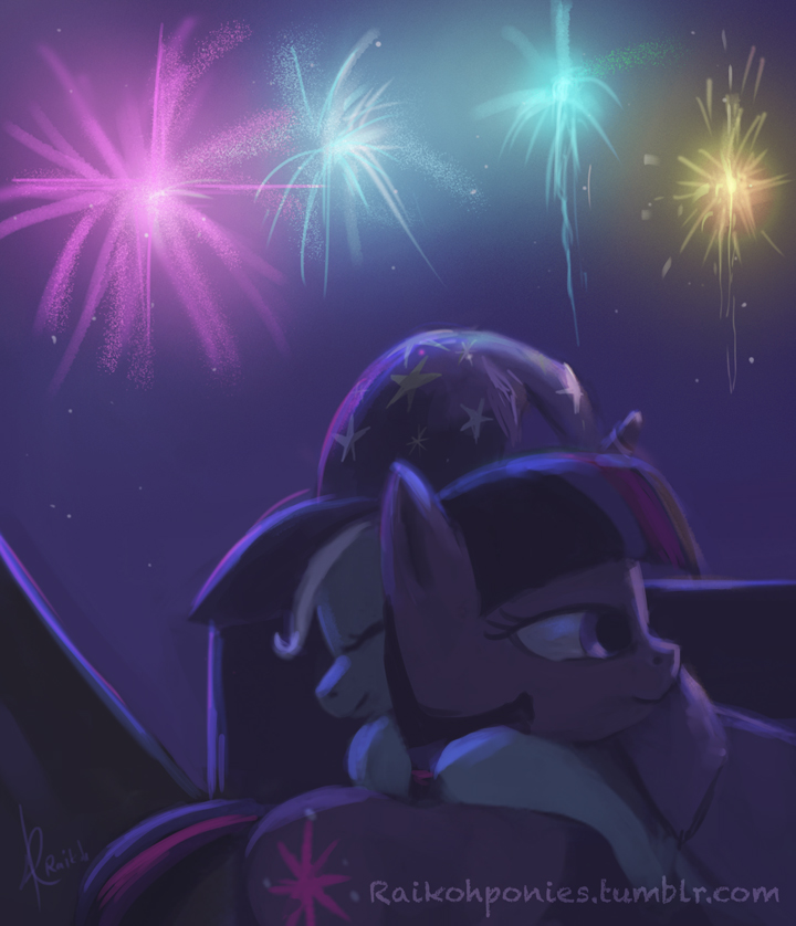 Thank you Twilight by Raikoh-illust