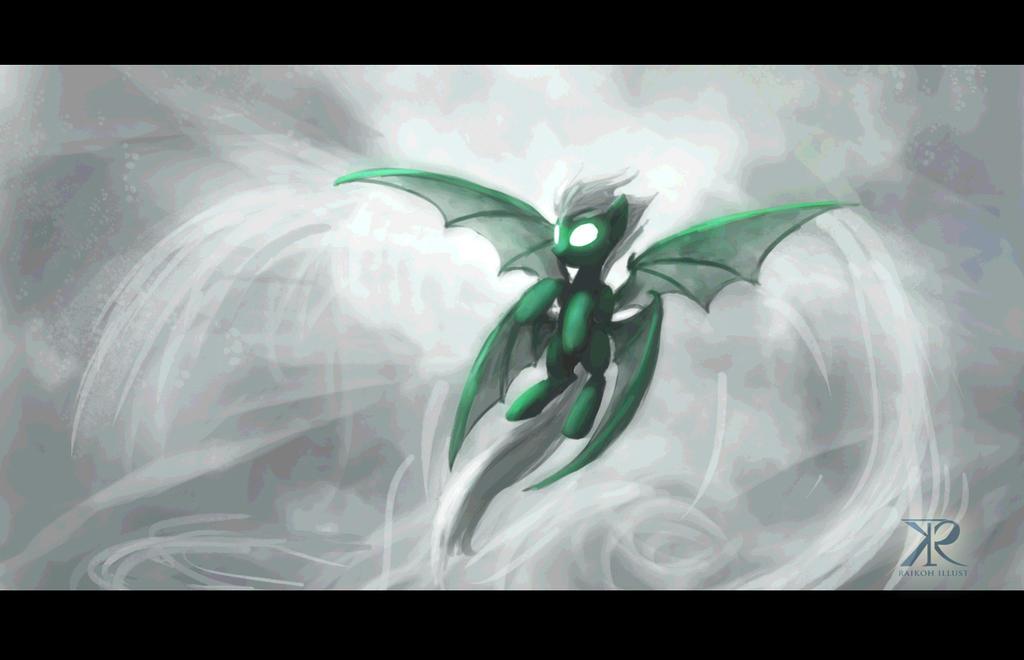Wind Elemental Pony by Raikoh-illust