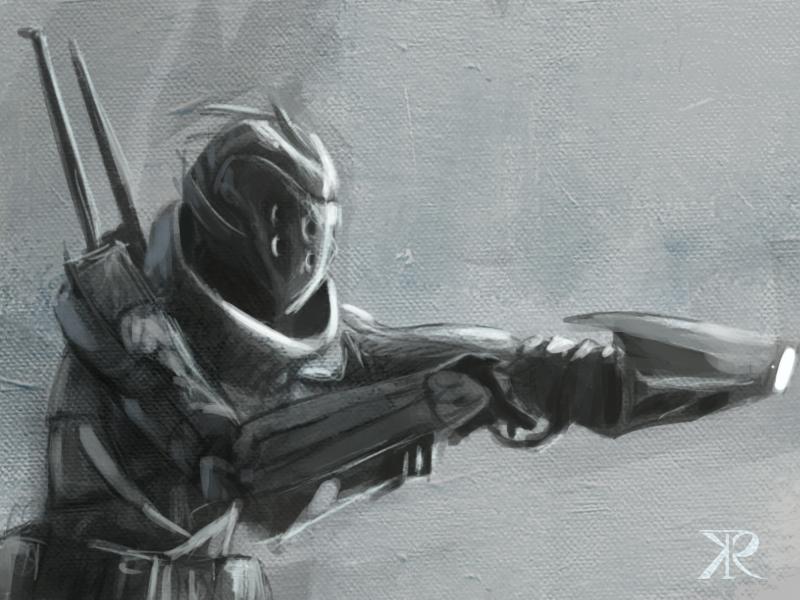 Soldier concept by Raikoh-illust