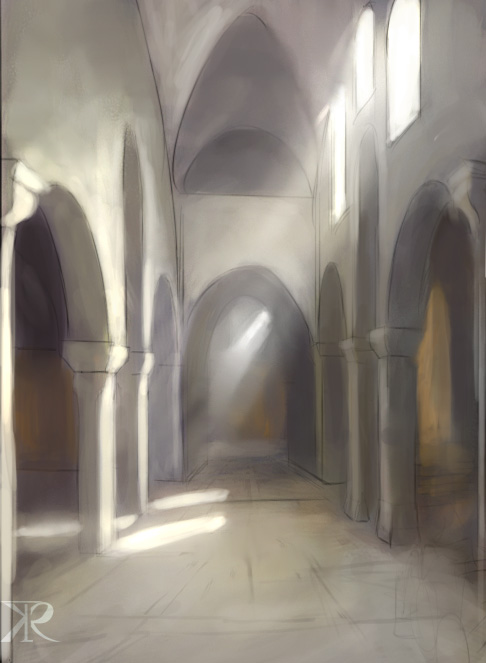 Paint sudy - light by Raikoh-illust
