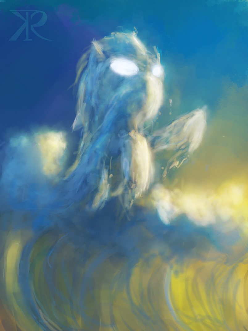 Water Pony Elemental by Raikoh-illust