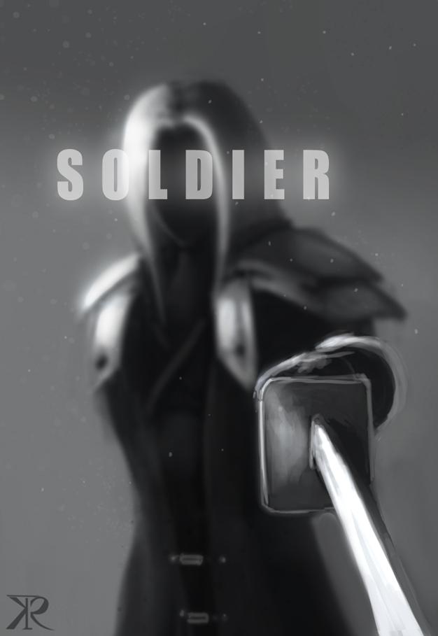 The legendary SOLDIER by Raikoh-illust