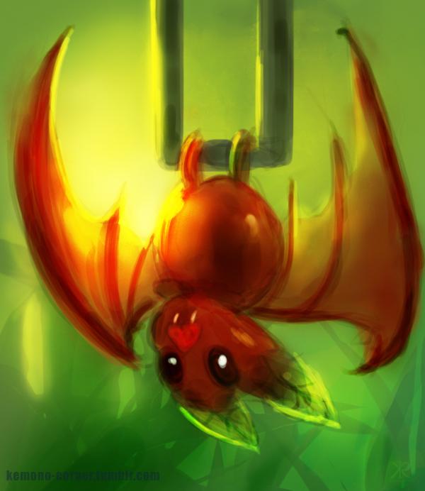 Cherry Fruit Bat by Raikoh-illust