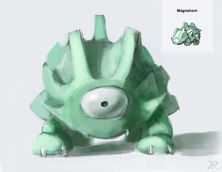 Magneform Pokemon Fusion by Raikoh-illust