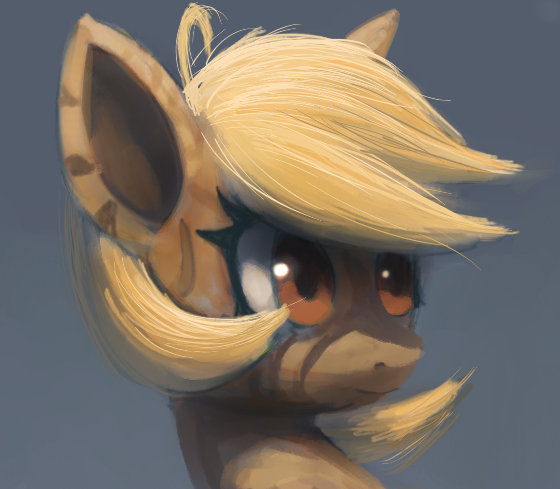 Stripey Pony by Raikoh-illust