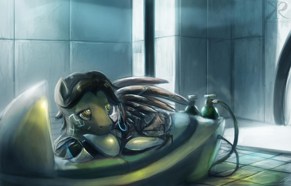 Resting by Raikoh-illust