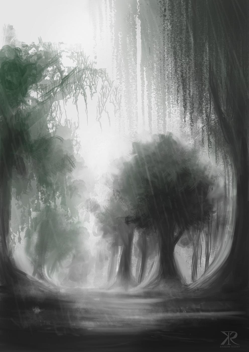 Rain by Raikoh-illust