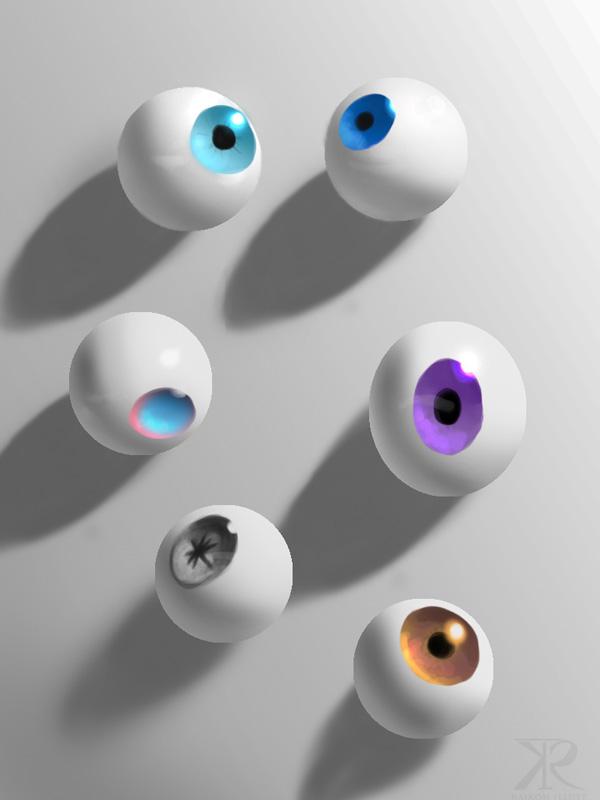 Eyeballs by Raikoh-illust