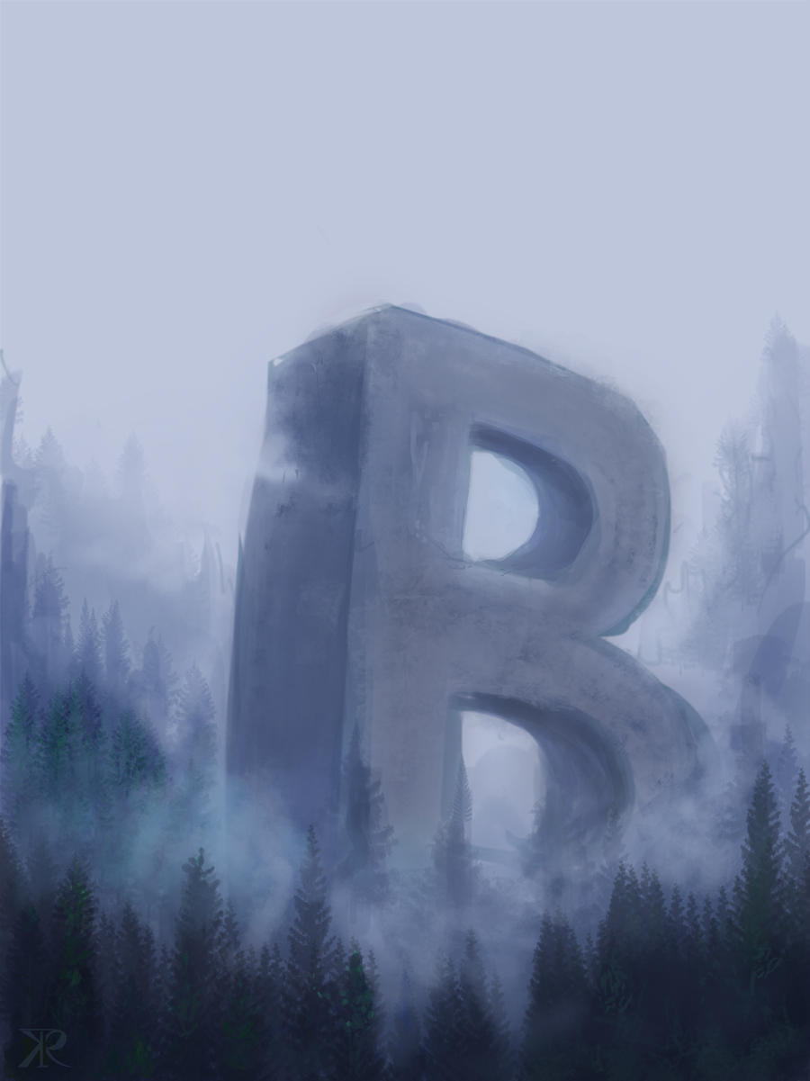 B by Raikoh-illust