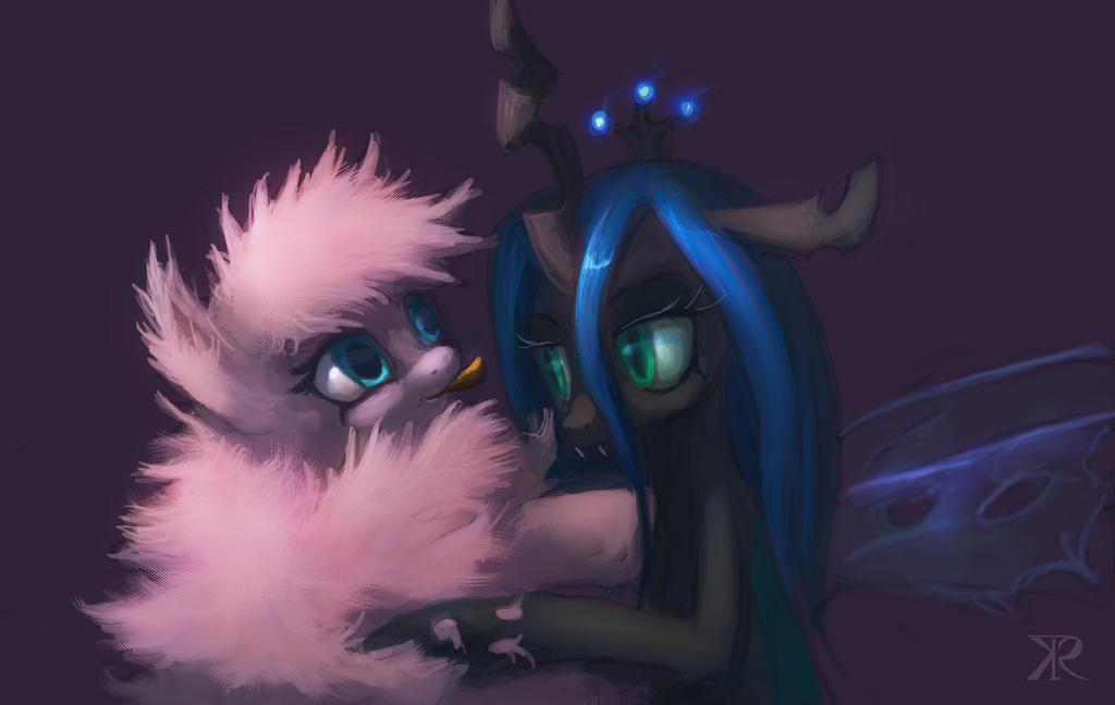Fluffy Puff n Chrissy by Raikoh-illust