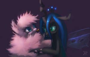 Fluffy Puff n Chrissy by RaikohIllust