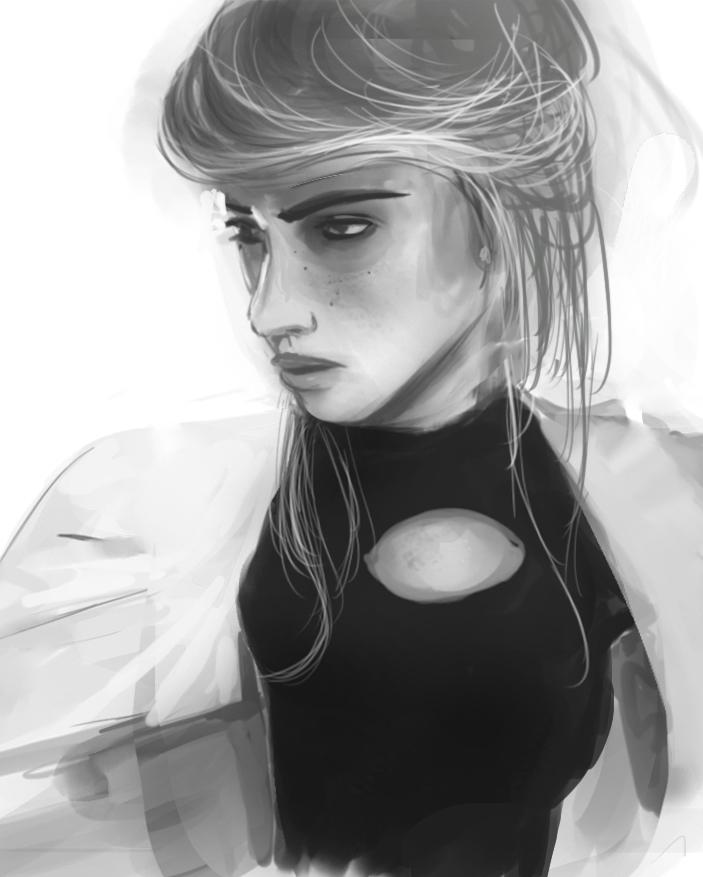 Woman-1 by Raikoh-illust