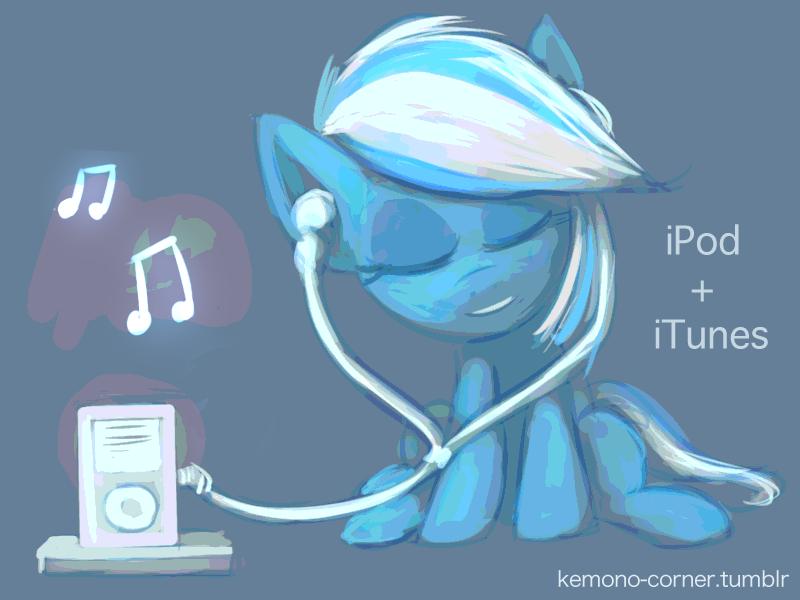 iTunes pony by Raikoh-illust