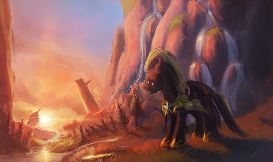 Canterlot has fallen by Raikoh-illust