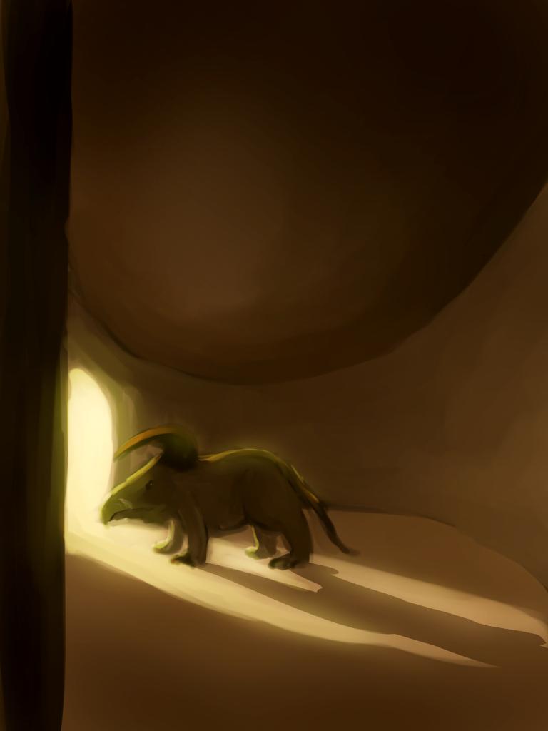 random creature by Raikoh-illust