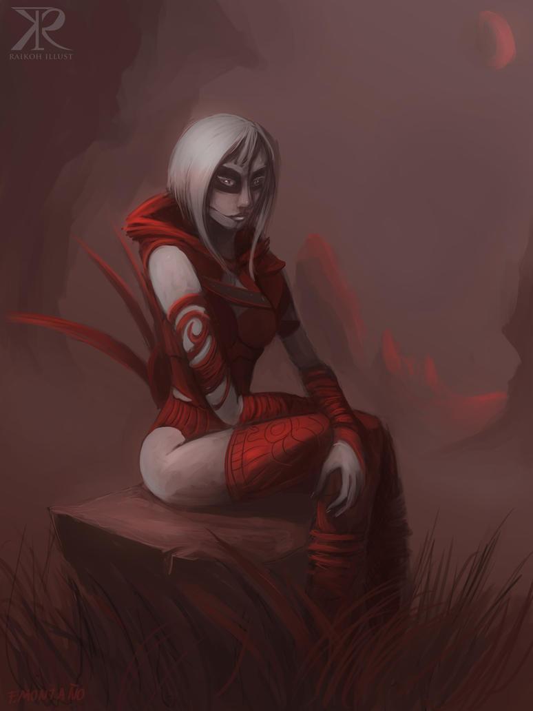 Nightsister by Raikoh-illust
