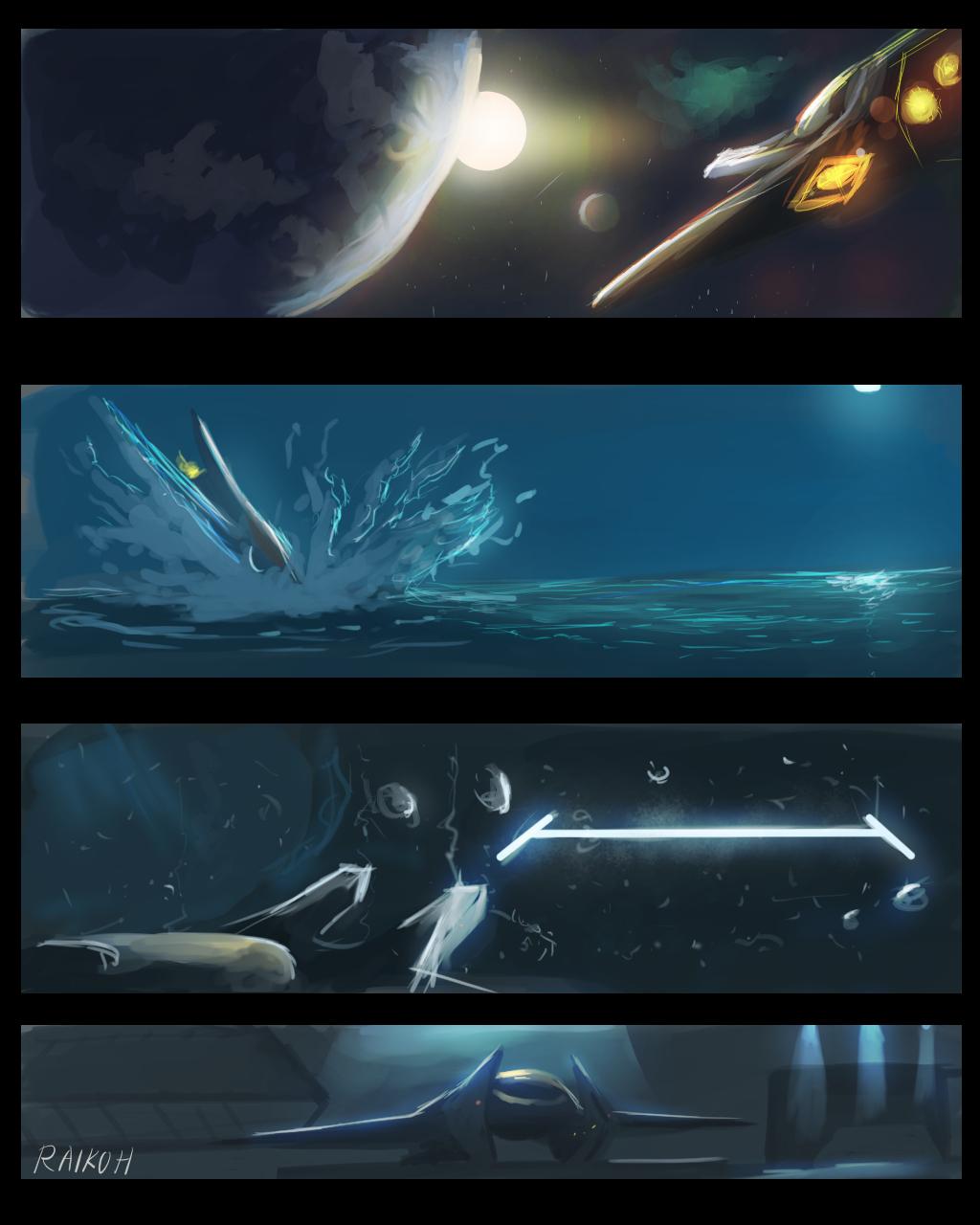 Exiles 02 by Raikoh-illust