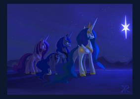 3 Wise Princesses by RaikohIllust