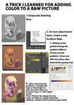 Greyscale to color mini tutorial