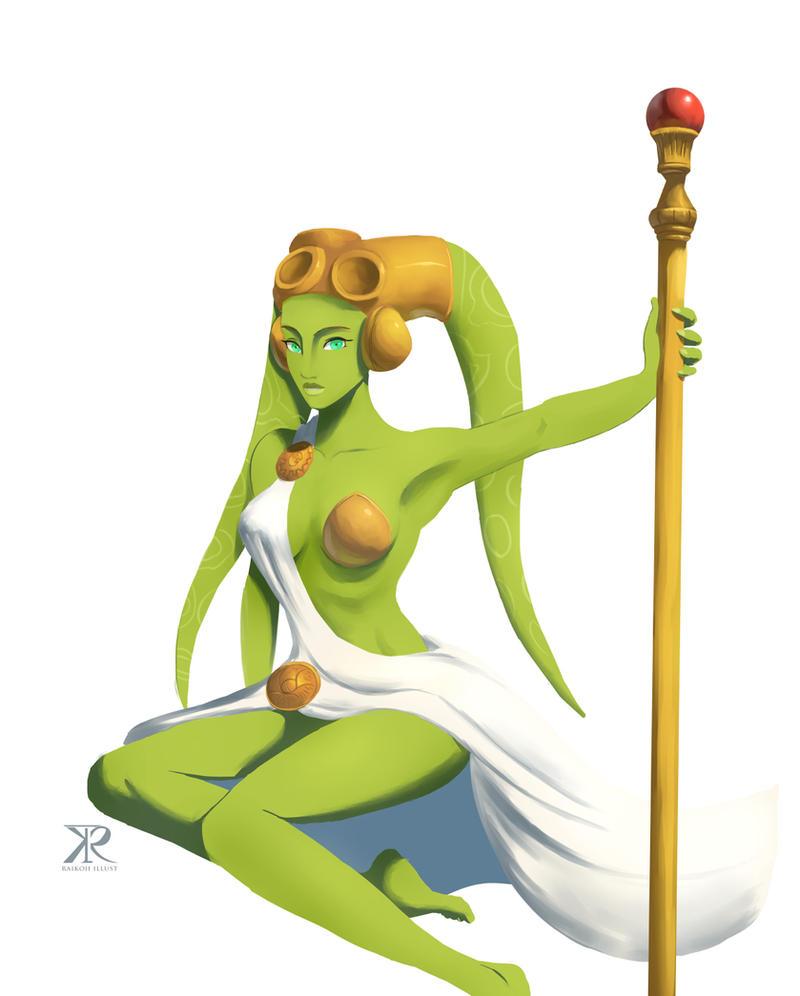 Goddess (alt.) by Raikoh-illust
