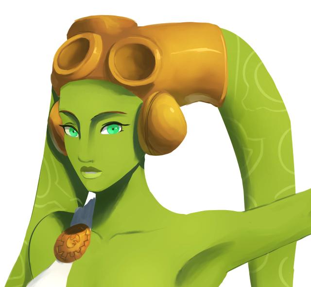 Goddess Hera close up by Raikoh-illust