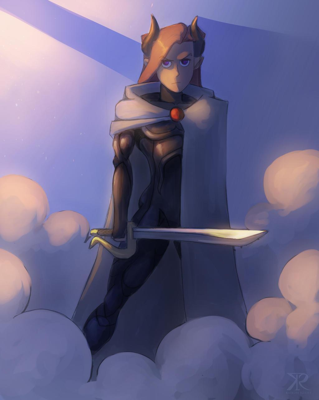 Color commission - Morgalla by Raikoh-illust
