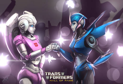Newest Hall of famer - Arcee