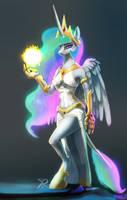 Sun Goddess by RaikohIllust