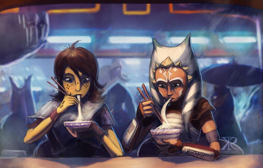 Noodle Bar from a far galaxy
