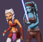 Fierce alien girls