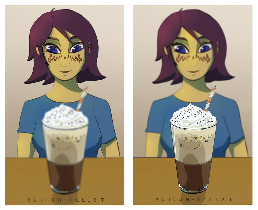 Barriss Iced Coffee by Raikoh-illust