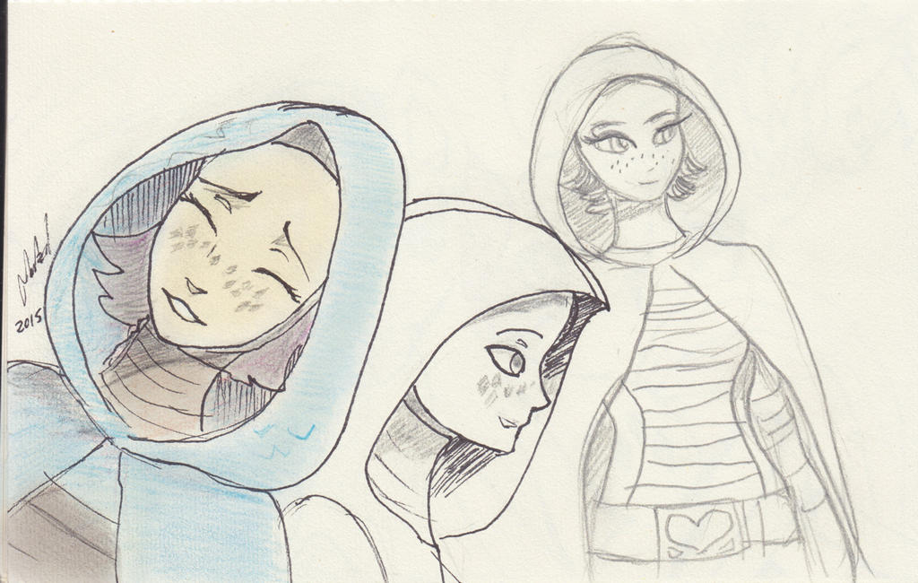 Barriss doodles by Raikoh-illust