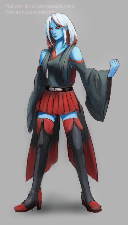 Maya Jeda New Clothes by Raikoh-illust