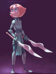 Armored Gems - Pearl