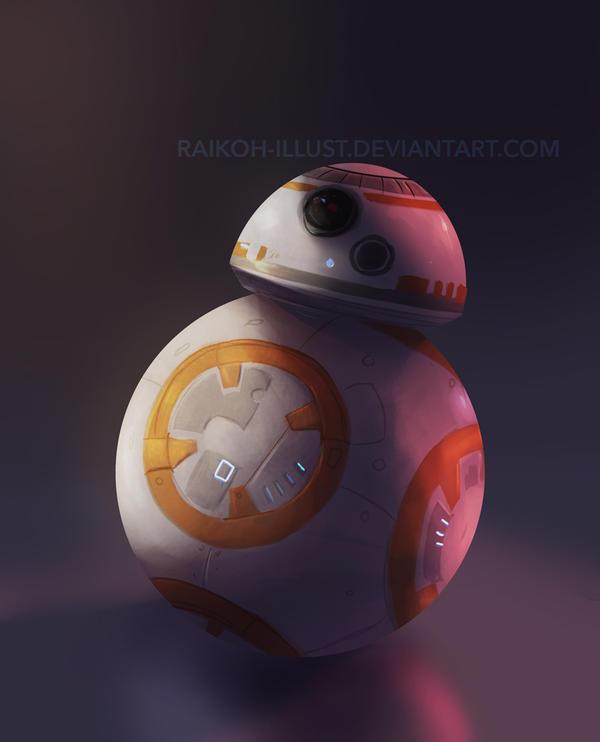 BB8 by Raikoh-illust
