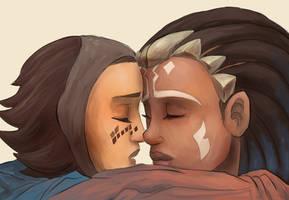 Embrace by RaikohIllust