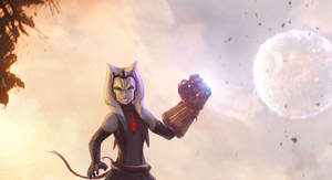 <b>Nova With Infinity Gauntlet</b><br><i>RaikohIllust</i>