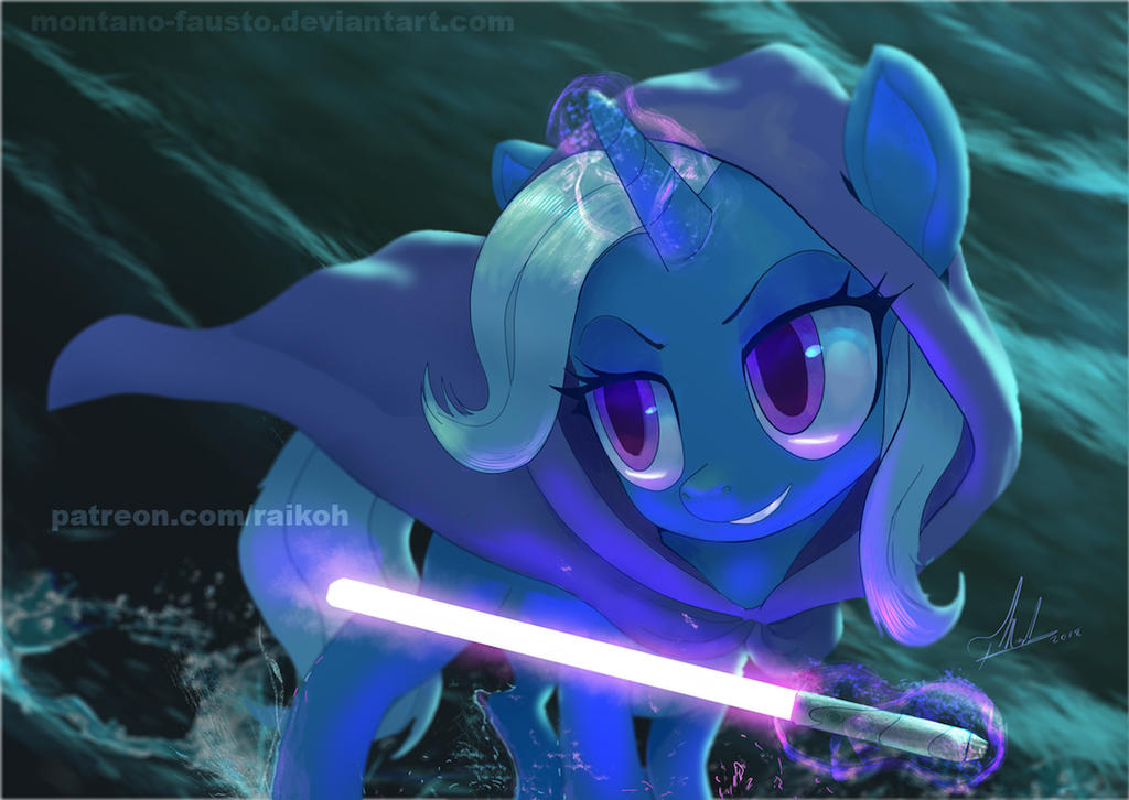 Codename: trIXie  painted version by Montano-Fausto